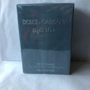 Dolce and gabbana light blue men 4.2oz